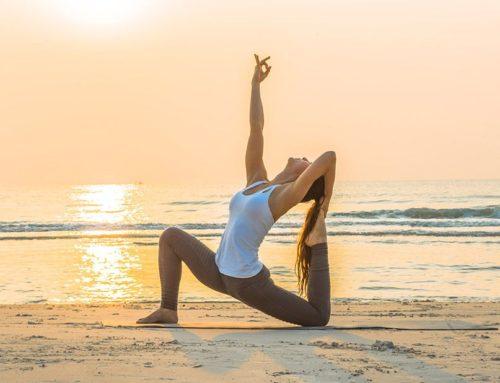¿Conoces el plus de practicar Yoga al aire libre?